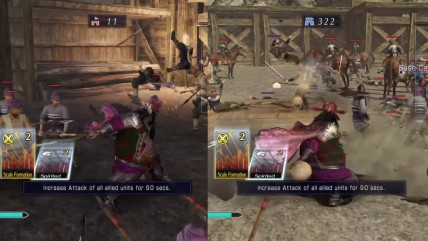 "Dynasty Warriors 8 Empires ""Сравнение версий для PS4 Vs Xbox One"""