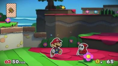 Paper Mario- Color Splash - Сюжет разворачивается (Wii U)