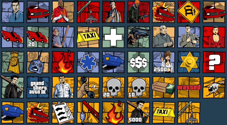 Информация по достижениям GTA Trilogy