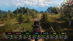 Сравнение - The Witcher 3 GTX 1050 vs. 1050 Ti vs. 1060 vs. 1070 vs. 1070 Ti vs. 1080 vs. 1080 Ti