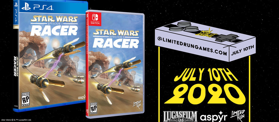 Star Wars Episode I: Racer для PS4 и Switch получит лимитированное физическое издание