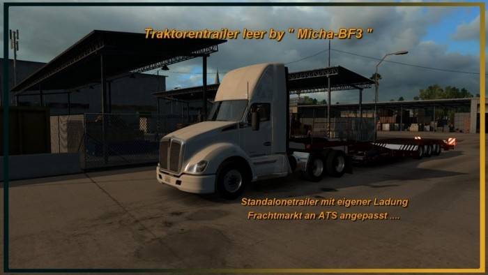 Tractor Trailer Empty V 1.0.0 Mod