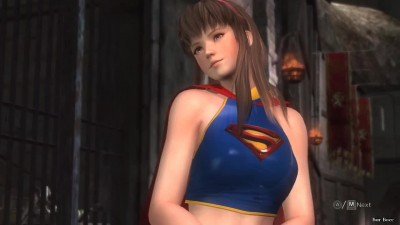 Dead or Alive 5: Last Round - Supergirl (Мод) vs Batgirl (Мод)