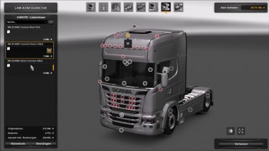 "ETS 2 ""Обзор Scania Streamline Megapack by Punisher V3 для 1.26"""