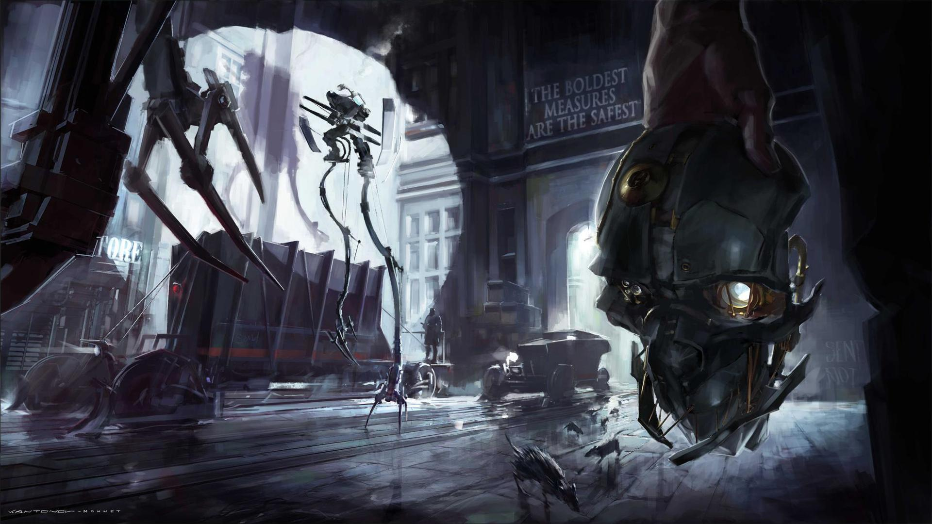 Обзор Dishonored. Этюд в багровых тонах