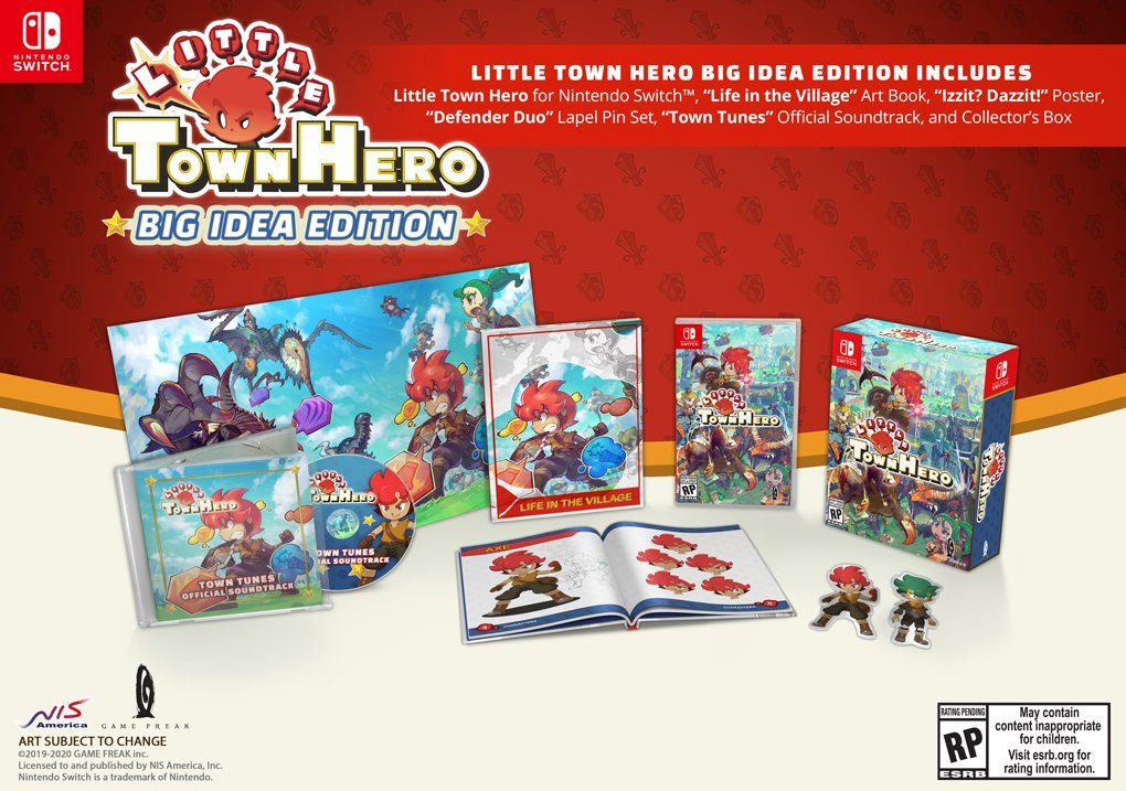 Little Town Hero получит физическую версию