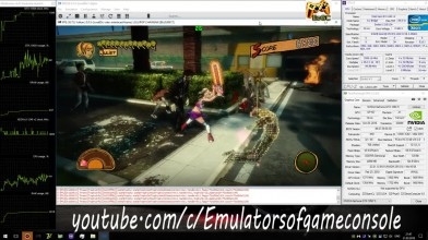 Пример эмуляции PS3 версии Lollipop Chainsaw на среднем ПК