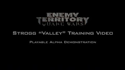Enemy Territory: Quake Wars - Strogg Tutorial