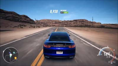 Need For Speed: Payback - Porsche Panamera Turbo Геймплей (PC HD)