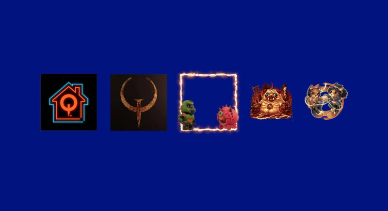 Рамка с ДумСлеером и стикер с мопсом-манкубусом - бесплатные предметы QuakeCon 2021