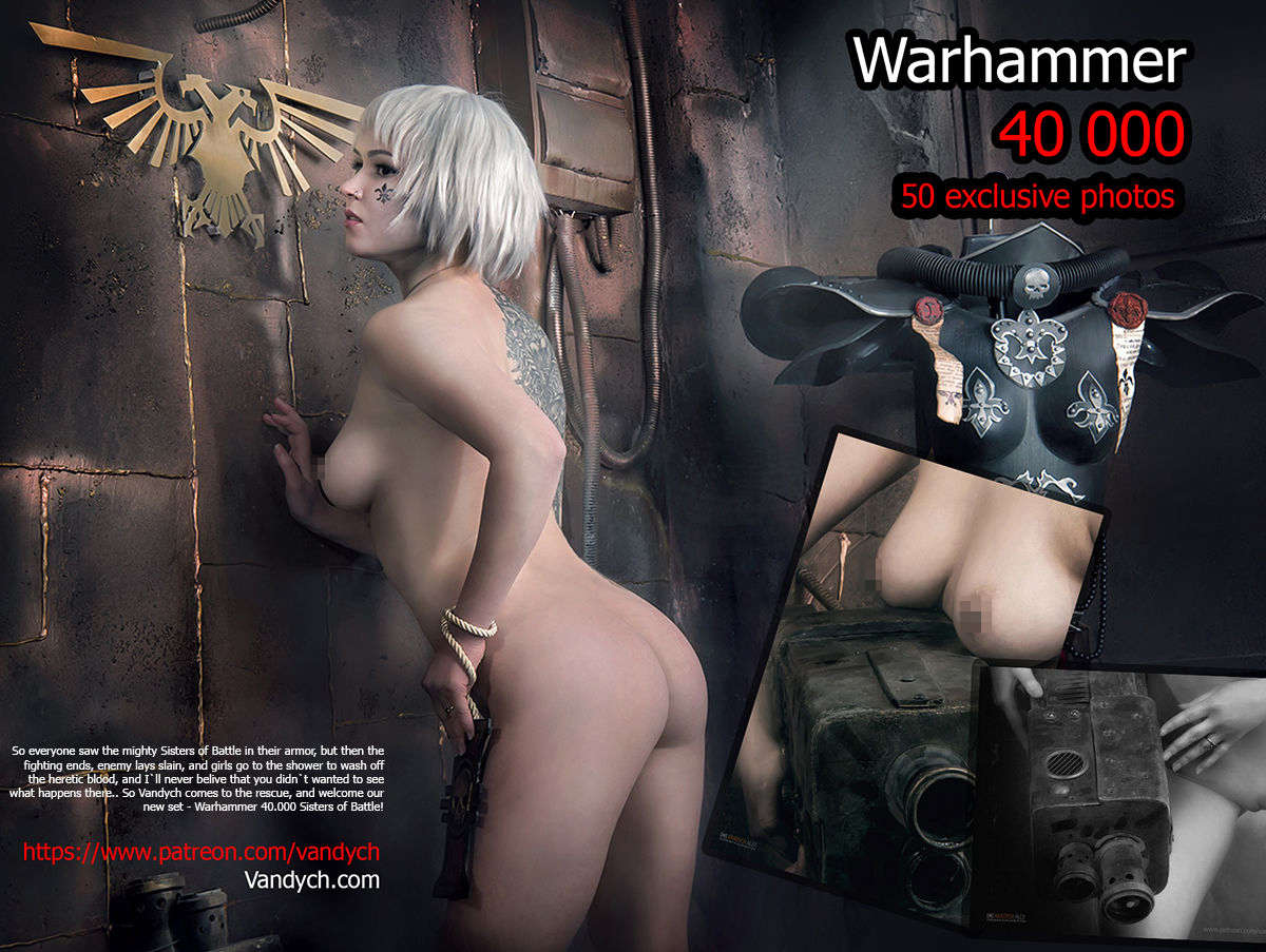 Warhammer 40.000 Sisters of Battle - интригующий косплей! - Блоги ...