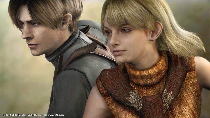 Новое сравнение модификации Resident Evil 4 HD Project с оригиналом