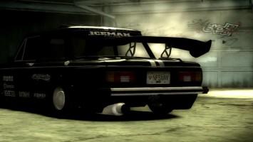 Музыкальный клип на песню Чёрный Запор в антураже NFS Most Wanted