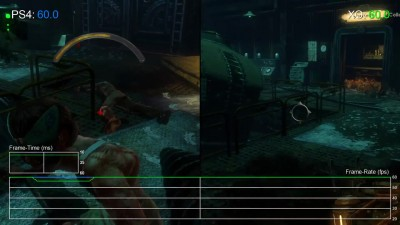 BioShock 2: PS4 vs Xbox One vs PC Частота кадров (DigitalFoundry)