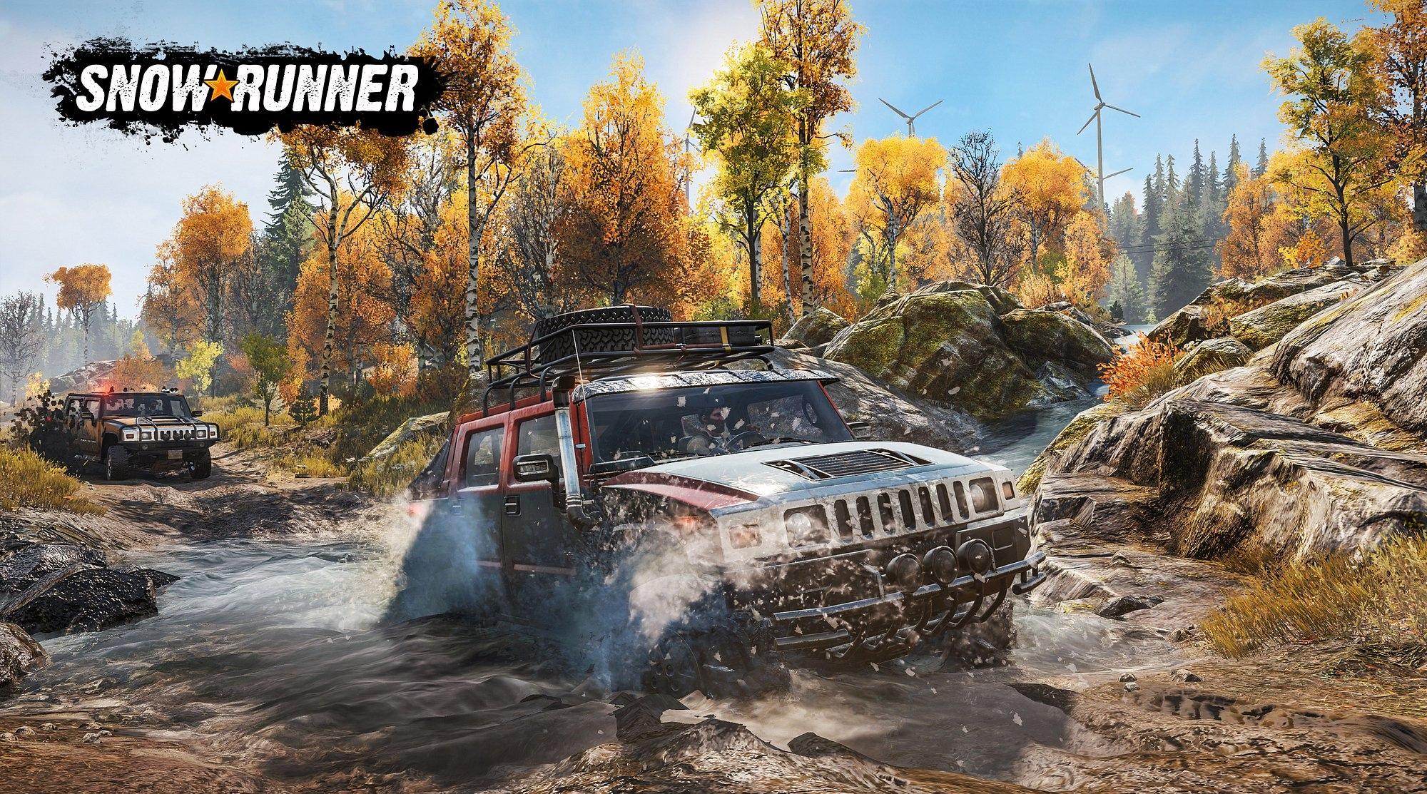 Новые изображения SnowRunner: A MudRunner Game