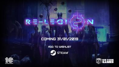 Трейлер с даты выхода киберпанк-стратегии Re-Legion