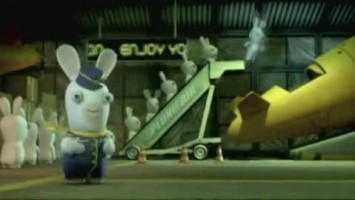 "Rayman Raving Rabbids 2 ""Music Video for the Rabbids Single"""