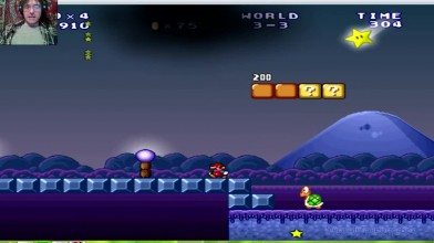 Mario Forever (SMB 3) v.6.0 (beta) - 3 уровень - Звёздная прогулка (прохождение на русском)