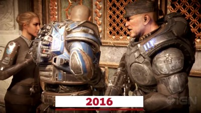 Сравнение Gears of War 2006 vs Gears of War 2016 (IGN)