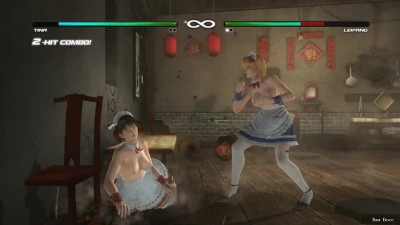 Dead or Alive 5׃ Last Round - Tina vs Leifang - Nude mod 18+ (Русские субтитры)