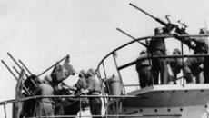 Зенитные орудия на немецких субмаринах