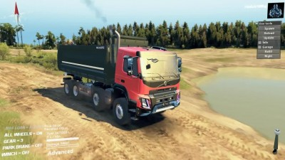 "Spintires ""VOLVO FMX 2014"""