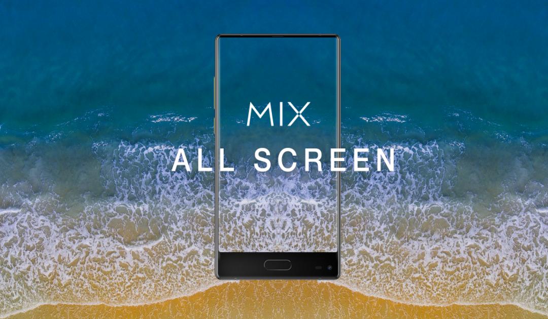 Безрамочный смартфон Ulefone Mix будет достойным конкурентом Xiaomi MiMix 2