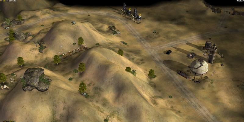 2 нефтяные платформы верхнего игрока со стороны левого фланга