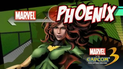 "Marvel vs. Capcom 3: Fate of Two Worlds ""Появление Phoenix Трейлер"""