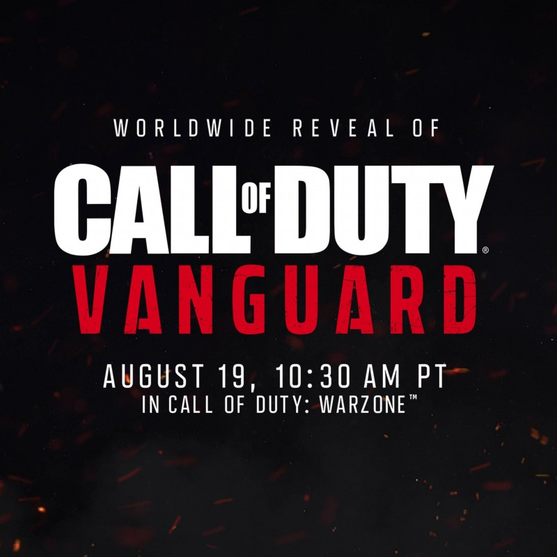 Call of Duty: Vanguard представят 19 августа