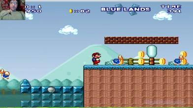Mario Forever (SMB 3) v.6.0 (beta) - Blue Lands (прохождение на русском)