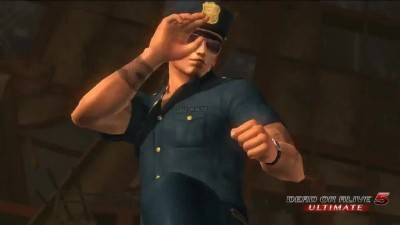 DEAD OR ALIVE 5 ULTIMATE - Police Costume