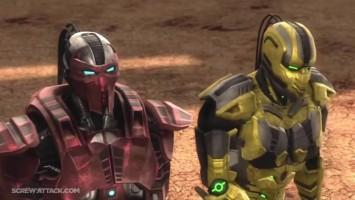 "Mortal Kombat (2011) ""Fulgore VS Sektor - Бой насмерть!"""