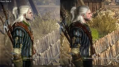 Сравнение графики The Witcher 2 Xbox One X vs PC