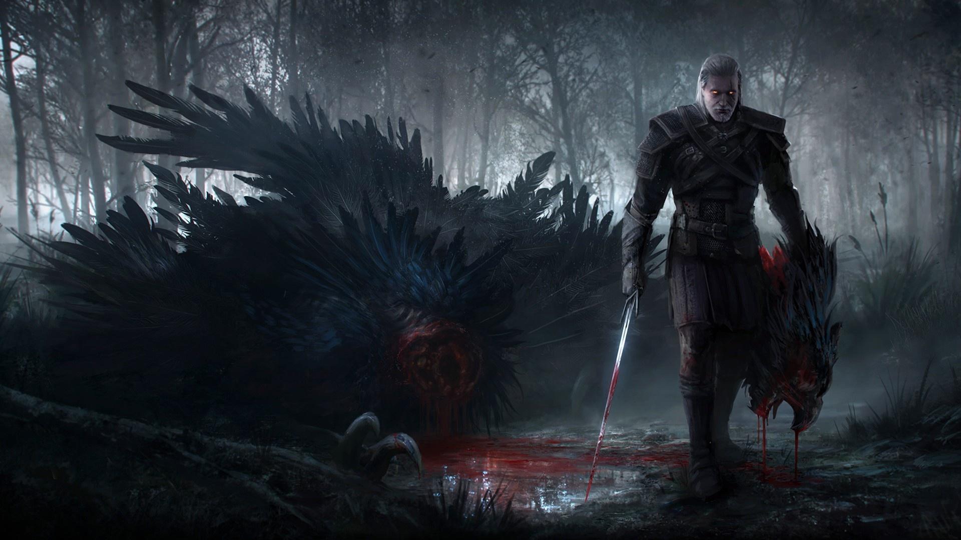 B>Ведьмак 3: Дикая Охота HD Обои | Фоны - Wallpaper Abyss