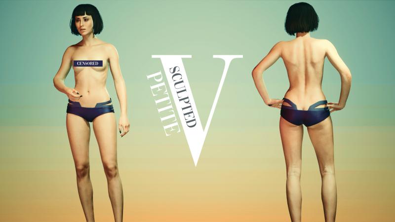 Женское тело - Sculpted Petite