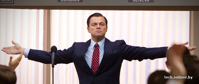 So says leonardo dicaprio in the wolf of wall street, martin