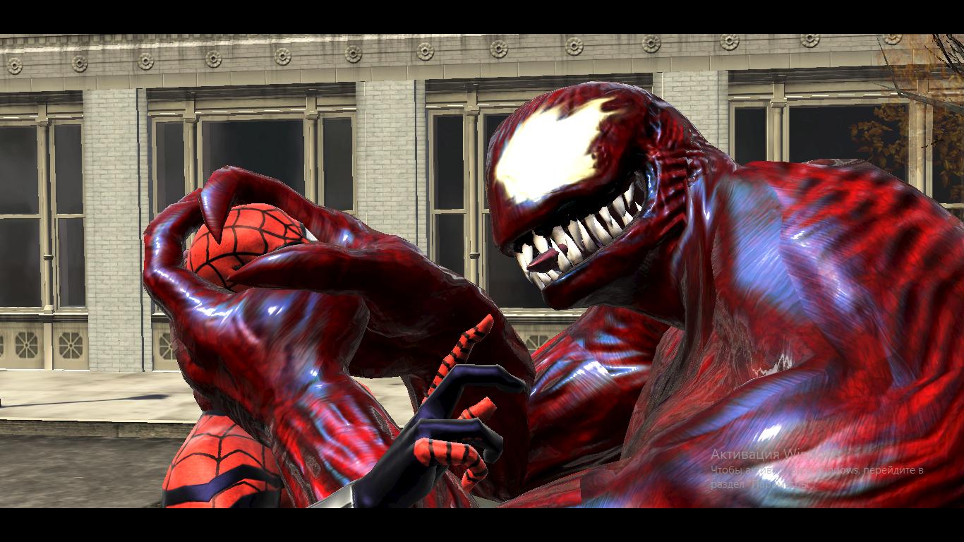 "Spider-Man: Web of Shadows ""Carnage for Venom Sosiska skin ..."