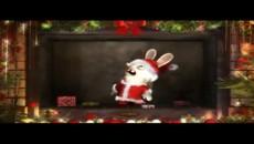 "Rayman Raving Rabbids TV Party ""С рождеством"""