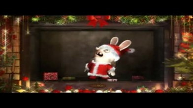 "Rayman Raving Rabbids TV Party ""С рождеством"""