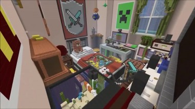 Minecraft - трейлер Battle Map Pack 4