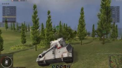 Ground War: Tanks - E-75 В Стоке! Ужас! CrewGTW
