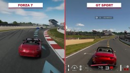 Сравнение Forza 7 vs GT Sport Visual