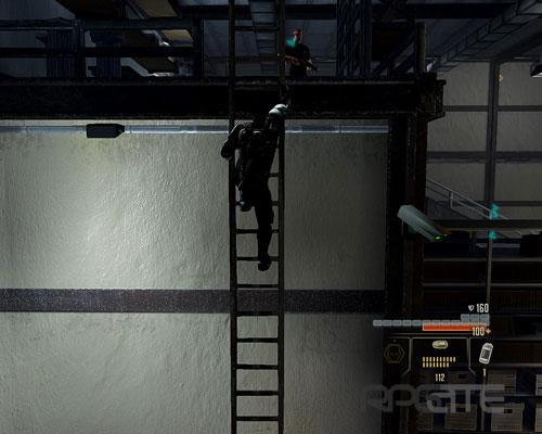 Повисните на лестнице и ждите