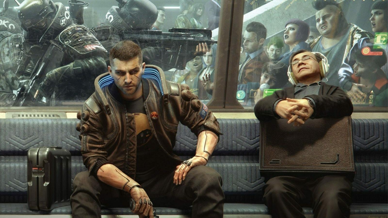 Игроки обнаружили в Cyberpunk 2077 остатки метрополитена