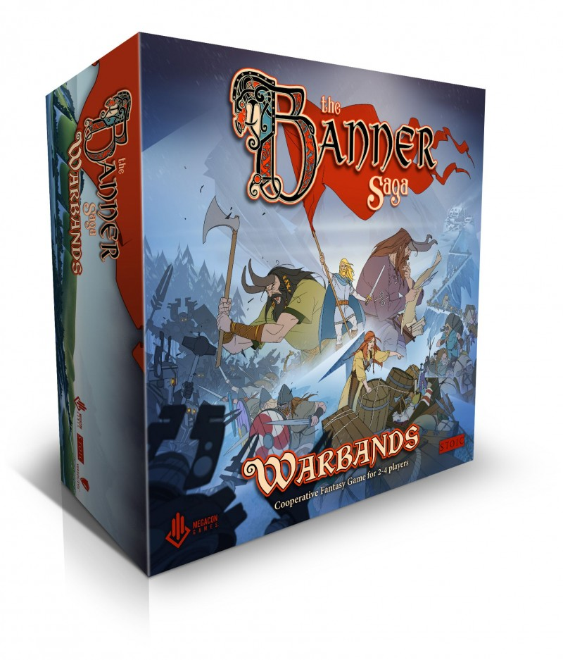 The Banner Saga Warbands - настольная адаптация замечательной роливкы
