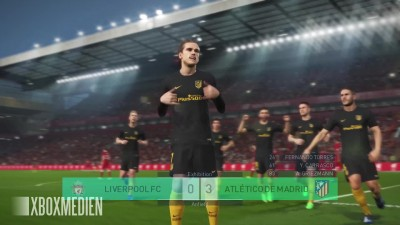 PES 2018 4K 60 FPS Liverpool vs Atletico Madrid (Xbox One, PS4, PC)