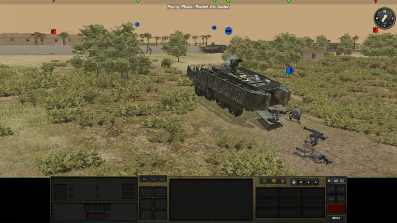 Стратегия - симулятор Combat Mission Shock Force 2 выходит в Steam 1-ого сентября