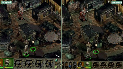 Planescape Torment - Сравнение Original vs. Enhanced Edition (Candyland)