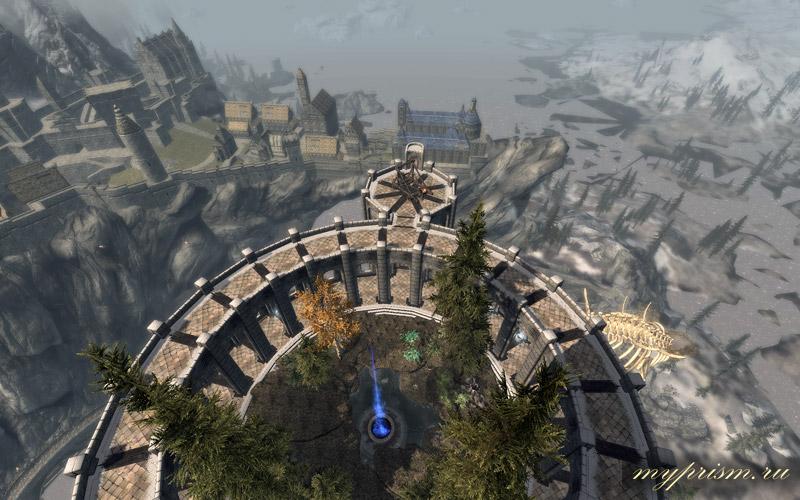Скачать мод Небесный Замок для Скайрима